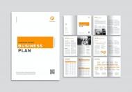 简约公司简介商业计划书整套宣传画册模板