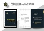 简约大气企业营销宣传画册模板