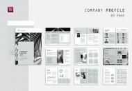 简约时尚大气企业员工管理手册公司宣传册