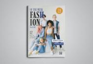 时尚高端大气杂志设计模板
