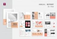 公司历史年度报告商业宣传册模板