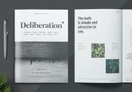 简约画册设计杂志模板