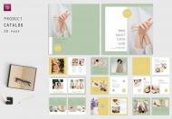 企业高端简约产品宣传画册杂志设计模板