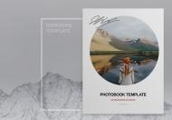 现代写真简约时尚杂志画册设计模板