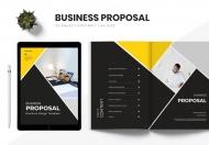 黑色商业计划书封面宣传画册模板