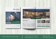 创意高档房地产企业宣传画册手册