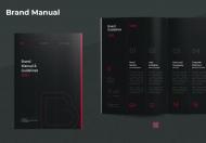 黑色简约大气国际品牌企业宣传手册