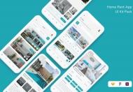 家具电商App iOS UI Kit设计模板