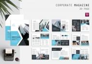 商务公司画册服务企业杂志