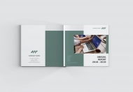 Square-商务简约公司年报公司宣传画册
