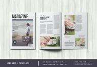 商业宣传册模板杂志设计模板