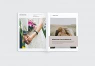 婚纱摄影手册宣传画册
