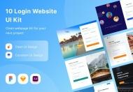 10 登录网站 UI 套件