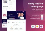 招聘平台登陆网页设计模板