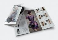 Union-时尚服装宣传三折页小册子
