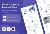 金融科技机构网页设计模板
