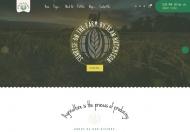 粮食种植者 – 农业农场网站设计PSD模板