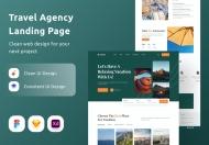 旅行社网站设计页面模板