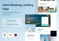 酒店预订登陆页面网页设计模板