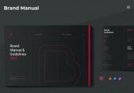 创意品牌印象企业宣传手册设计模板