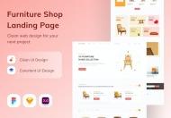 家具店网页设计模板页面
