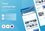 旅游登陆页面网站设计模板
