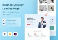 商业机构企业网站设计页面
