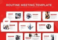 例行会议主题演讲keynote模板
