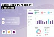 社交媒体管理仪表板