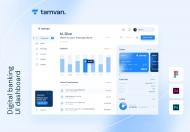 Tamvan-数字银行仪表板 UI 模板