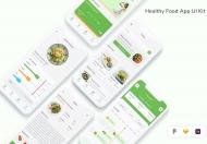 健康食品应用 UI 套件