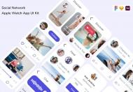 社交网络 Apple Watch 应用 UI 套件
