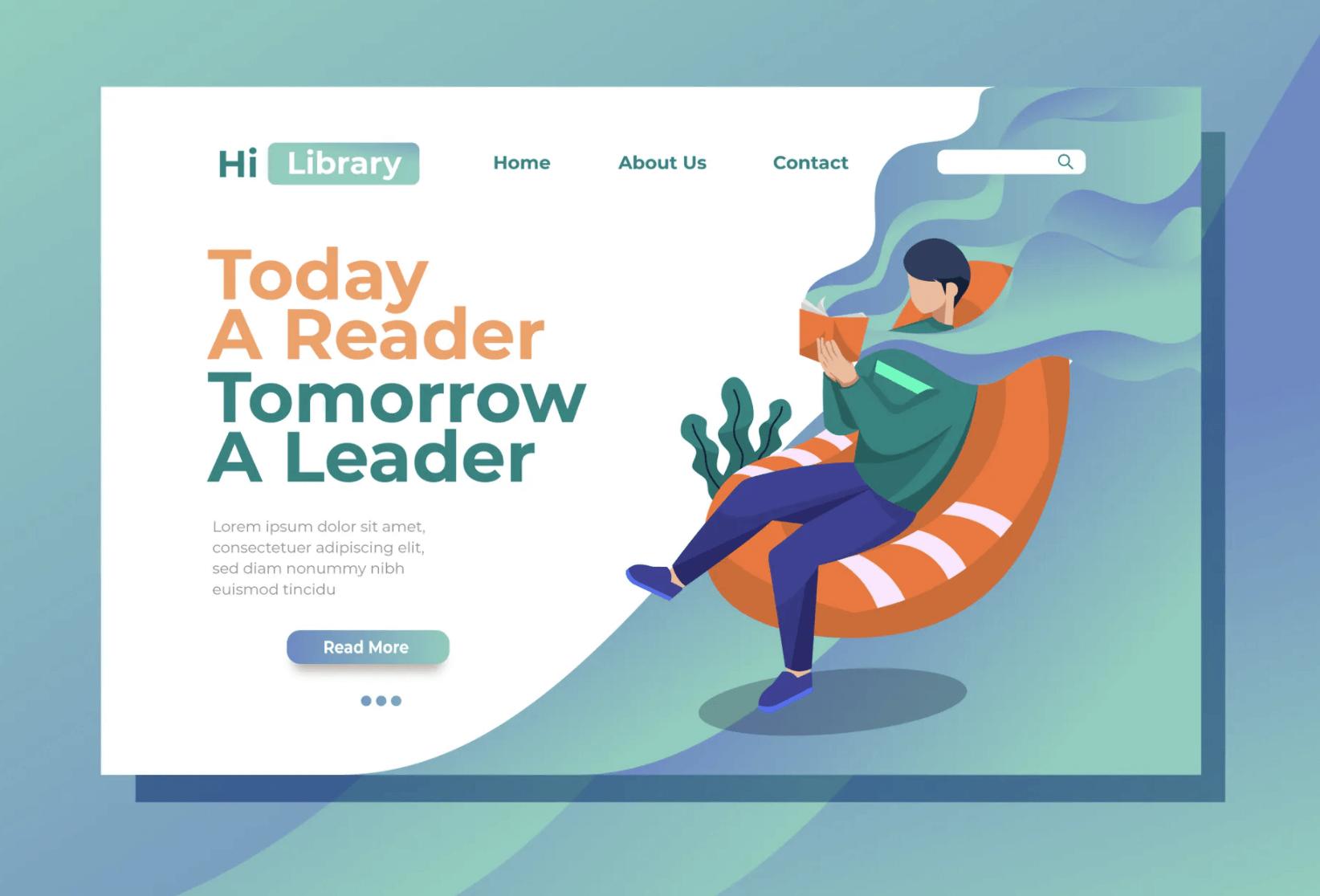 阅读登陆页面插图