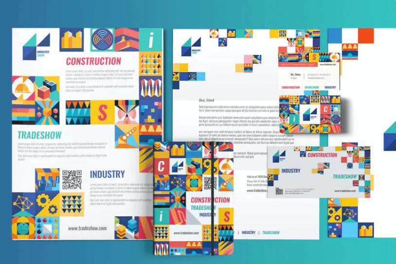 工业展览会-印刷包装模板