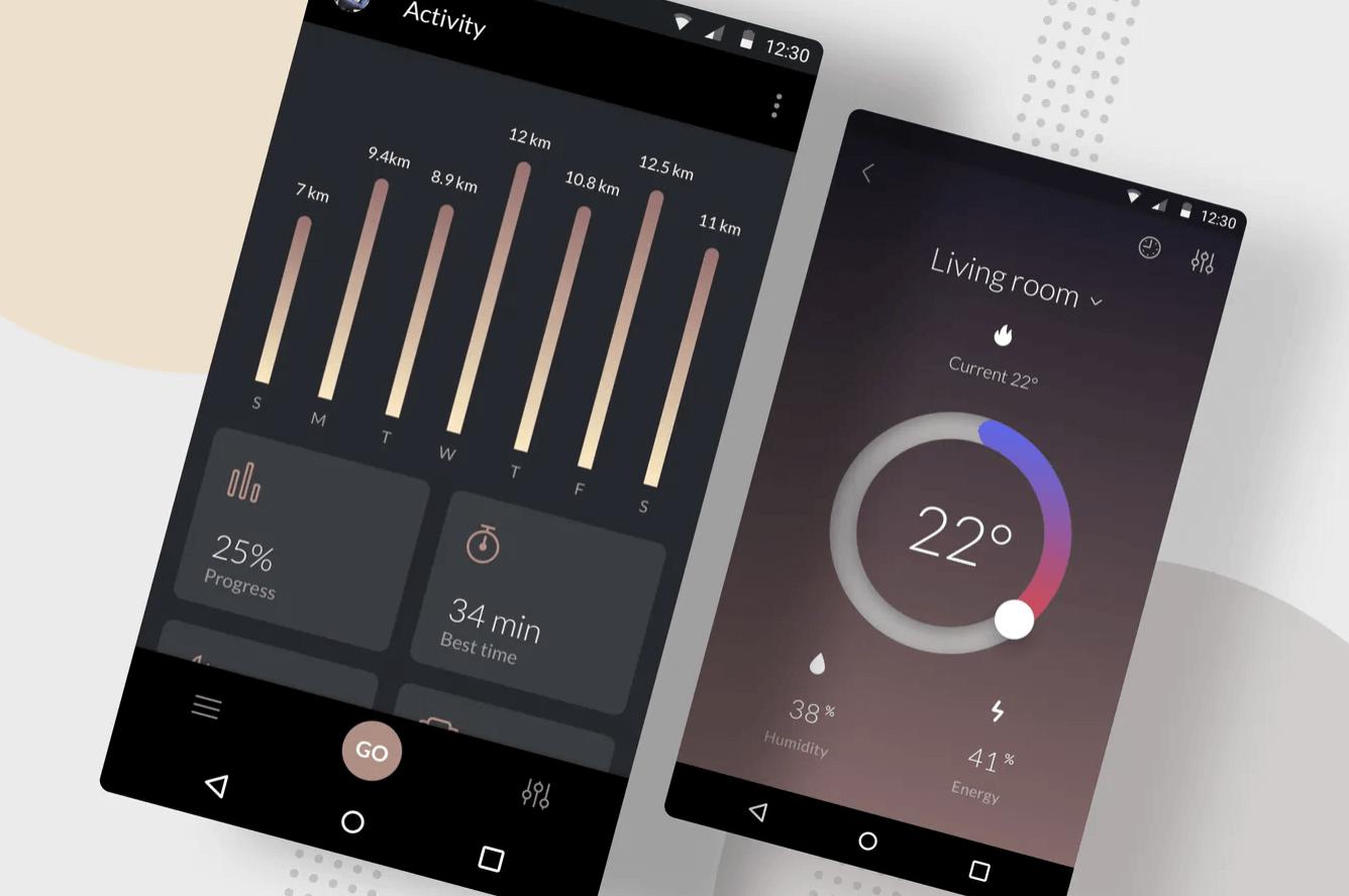 结果统计Android ui模板