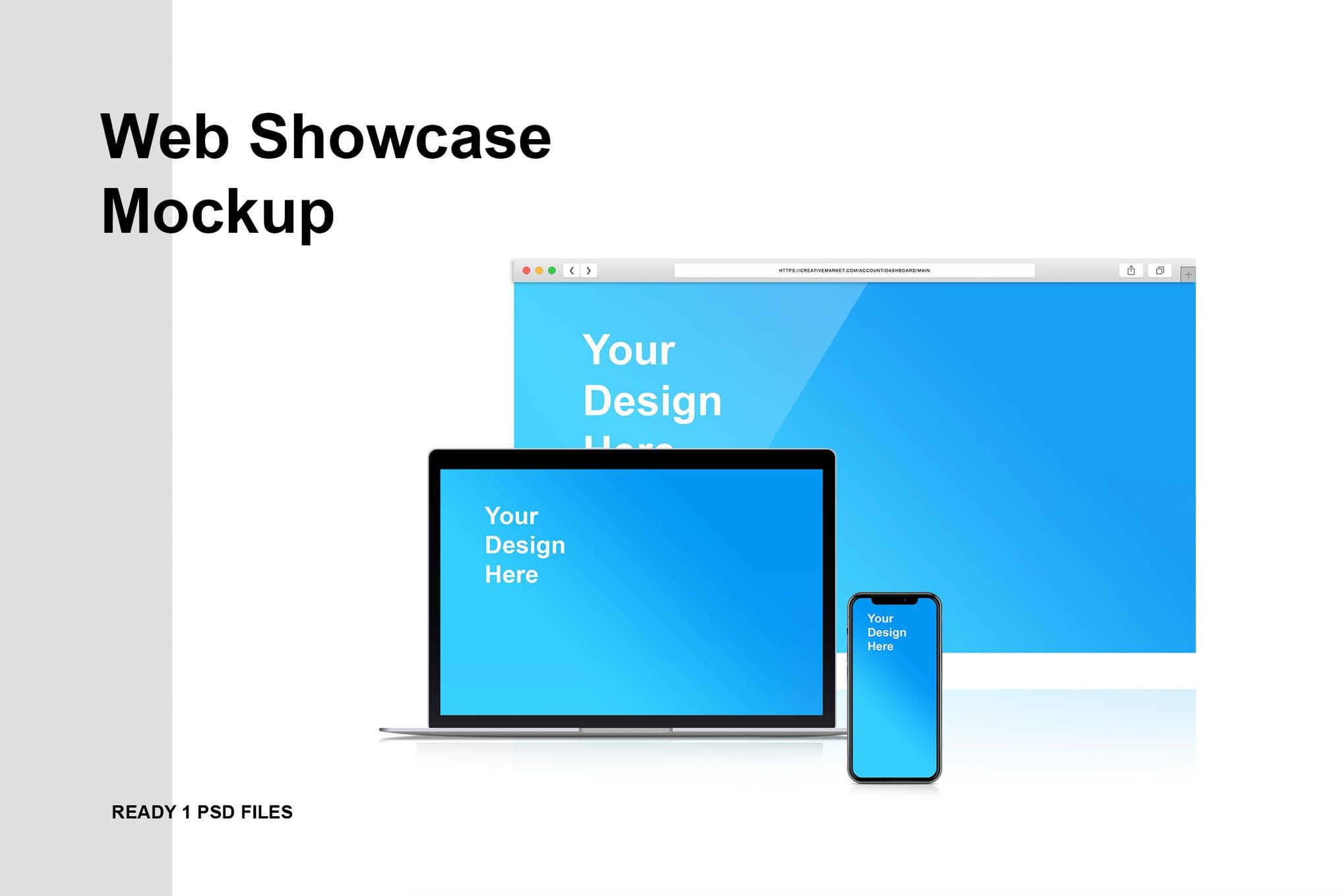 Web样机展示苹果样机免费下载