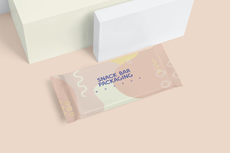 铝箔纸小吃店包装样机雪糕包装样机展示