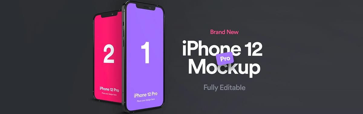 iPhone 12 Pro样机psd下载