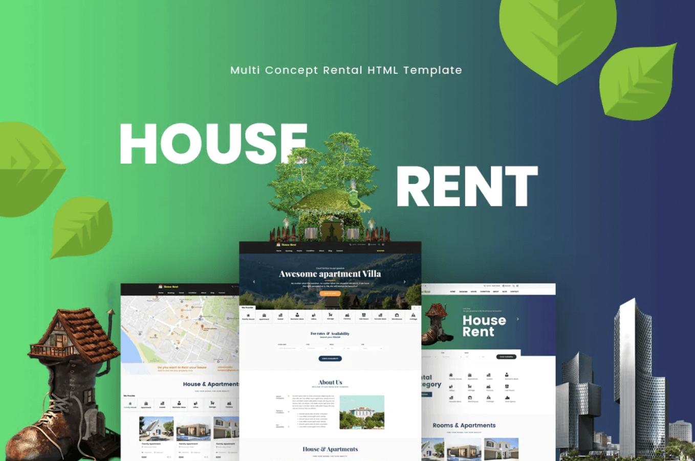 房租-房地产响应式网页html模板