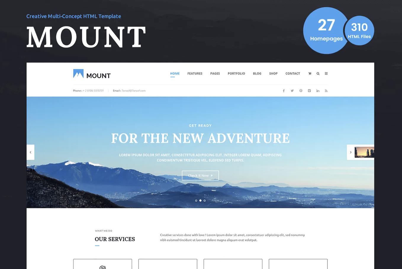 安装–多功能商务网页HTML模板