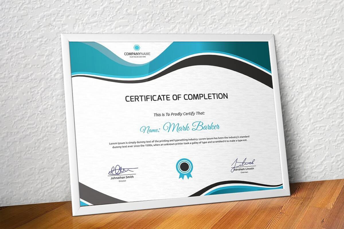 证书模板图形排版设计