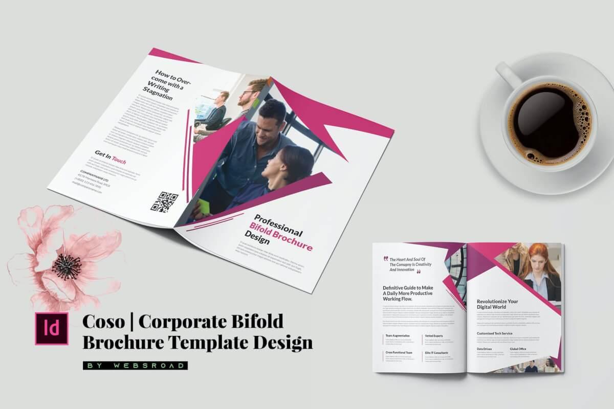 科索| 企业双重宣传册模板设计