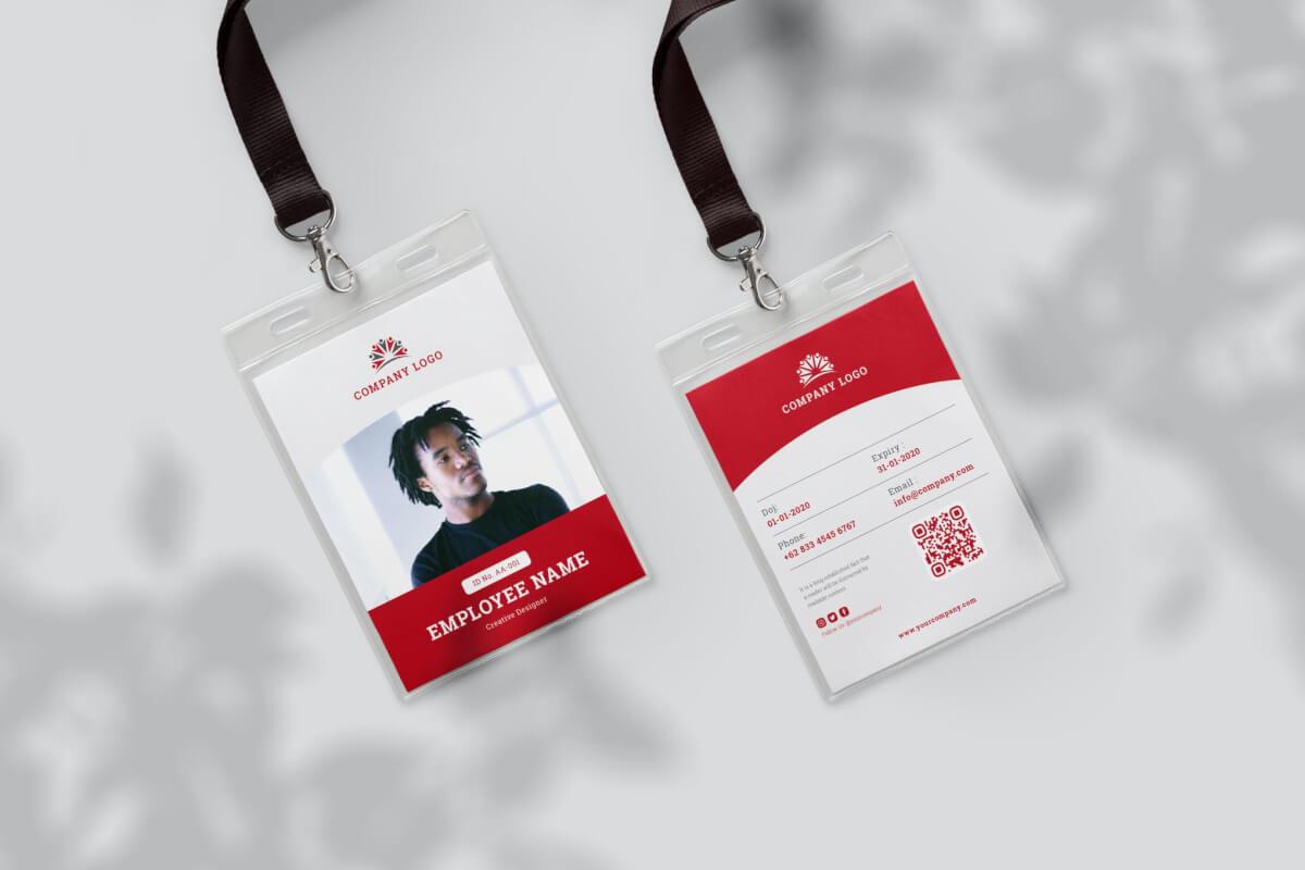 身份证卡Vol.4工作牌设计模板下载
