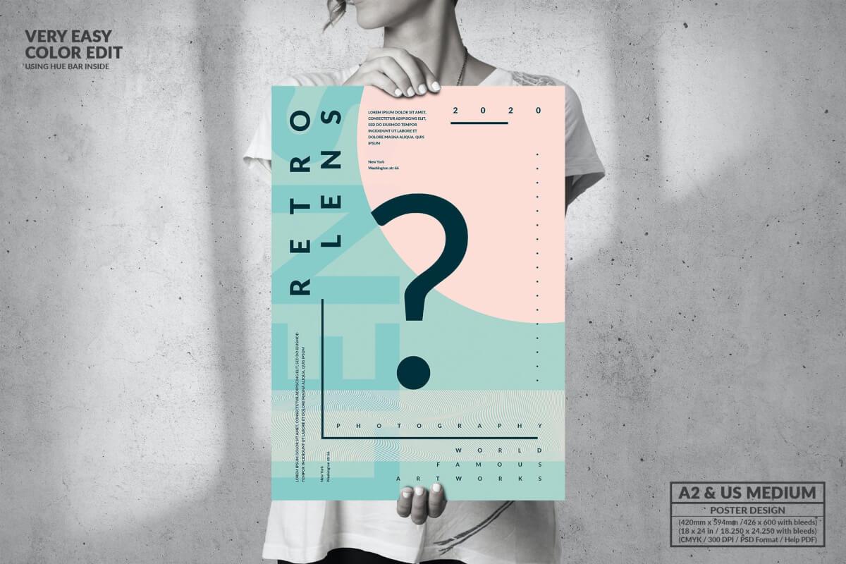 问题艺术活动-大海报版式设计