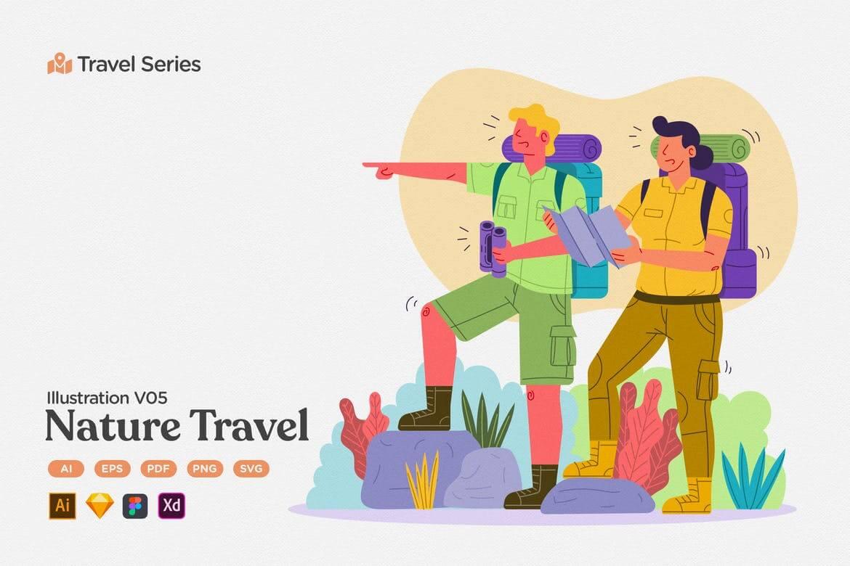 V05自然探险旅行图