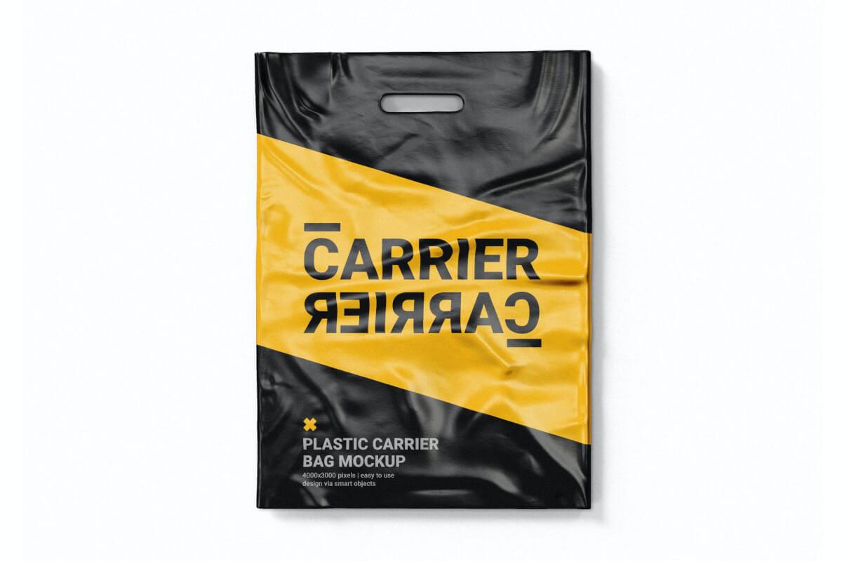 塑料手提袋样机模板