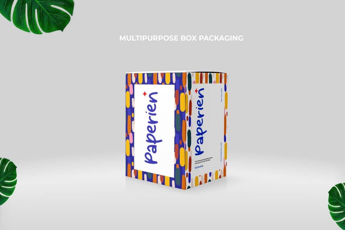 纸盒包装样机下载