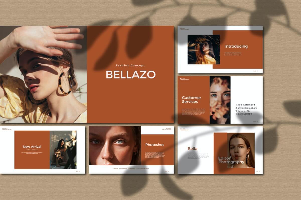 Bellazo-主题演讲keynote模板