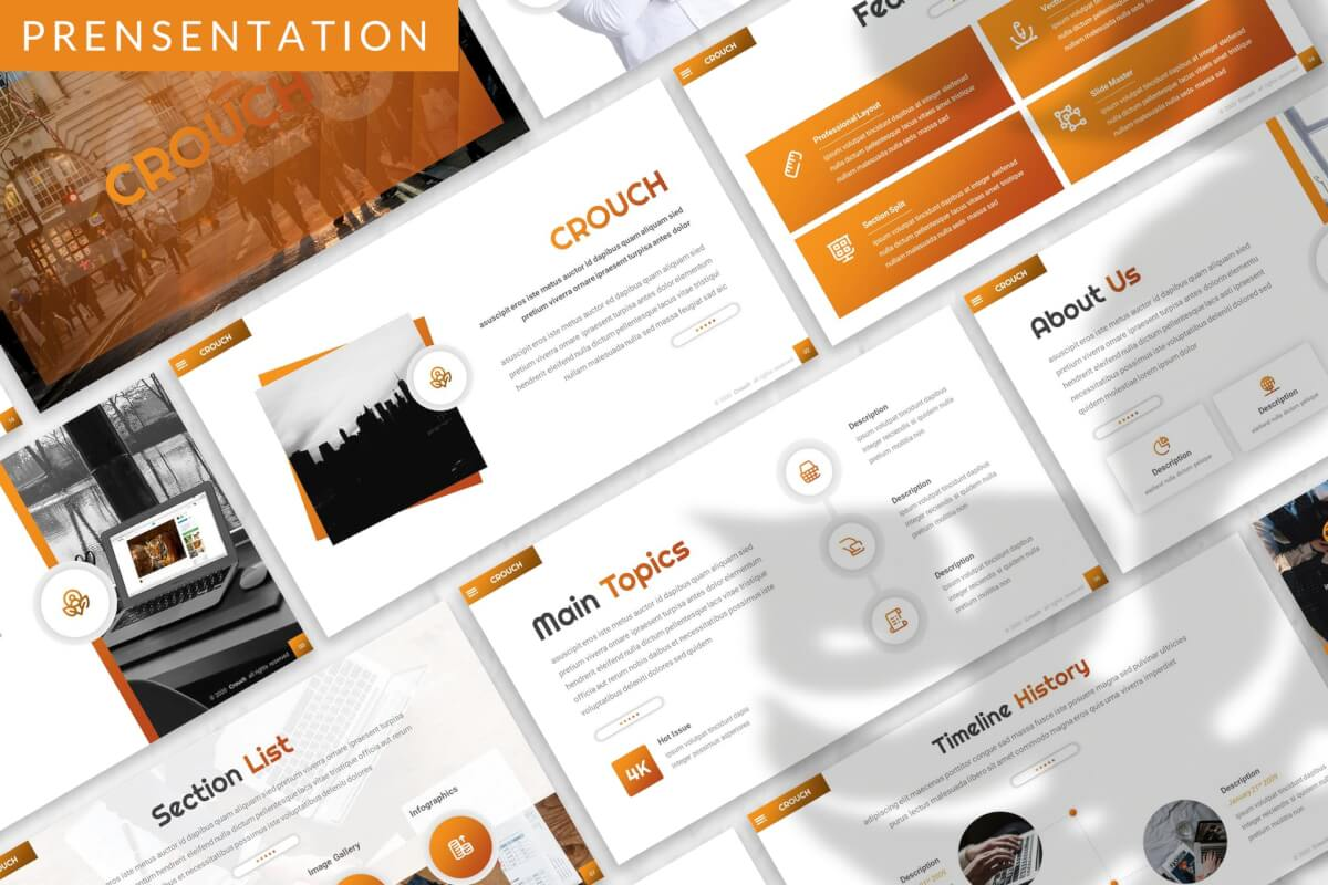 Crouch-业务演示模板