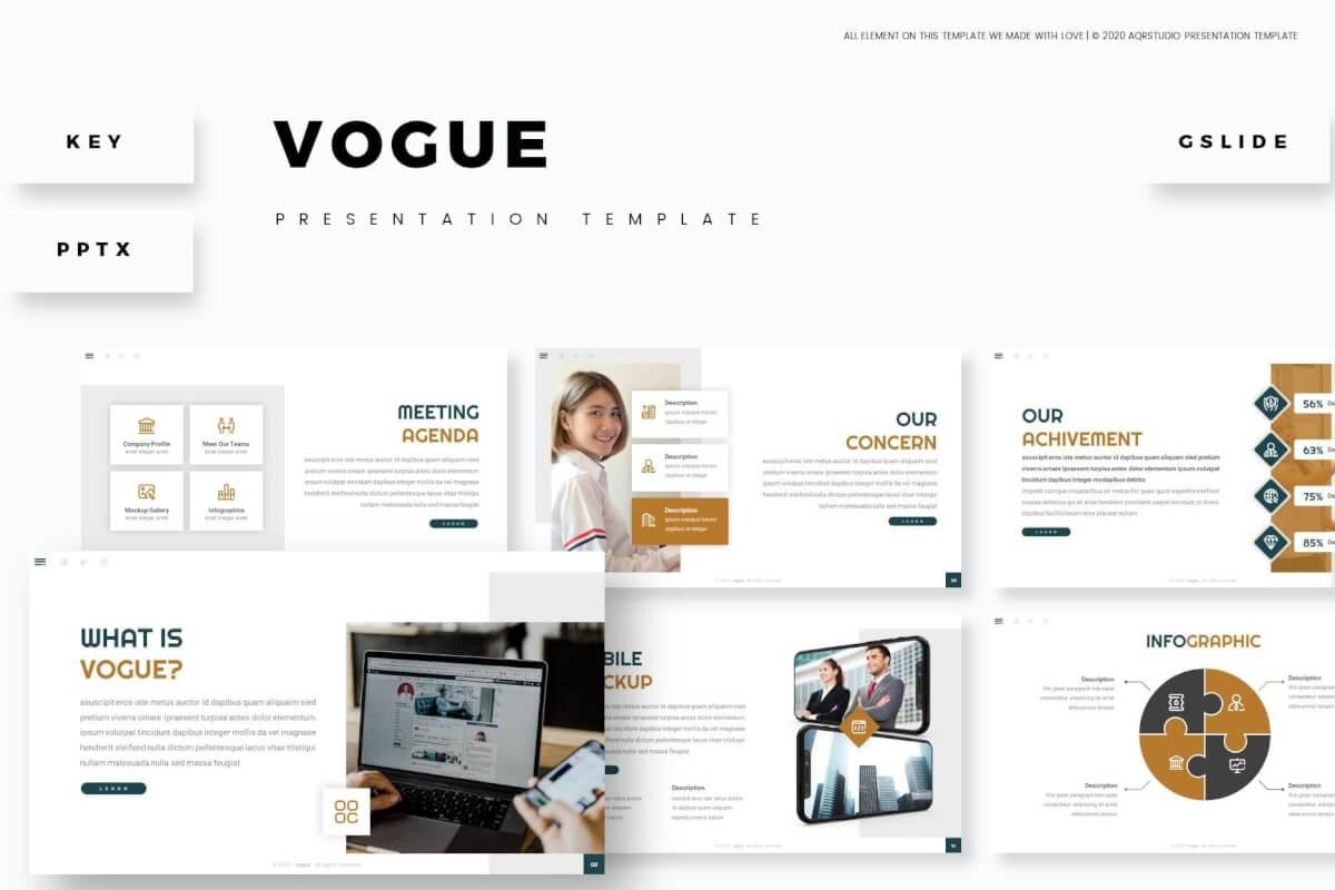 时尚商务企业介绍PowerPoint模板